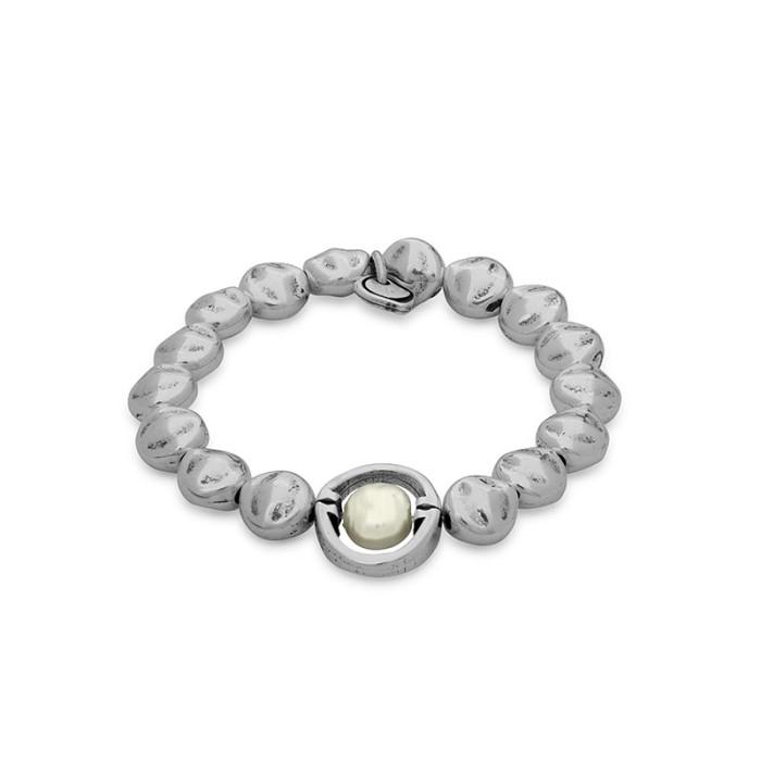 Pulsera Elegance elástica con perla