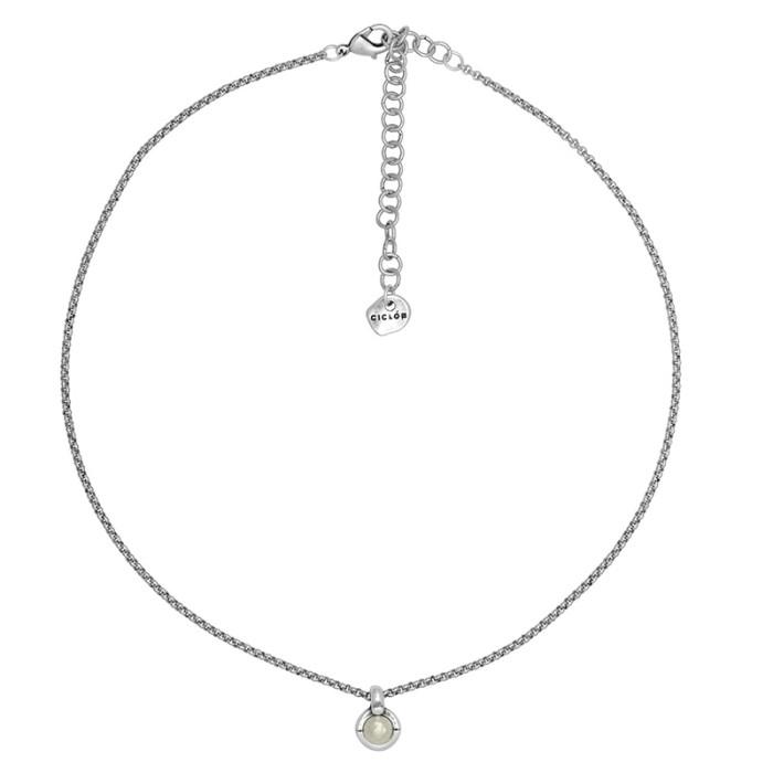 Collar ÜNIQUE corto con perla
