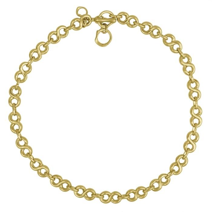 Collar corto Interminable Oro